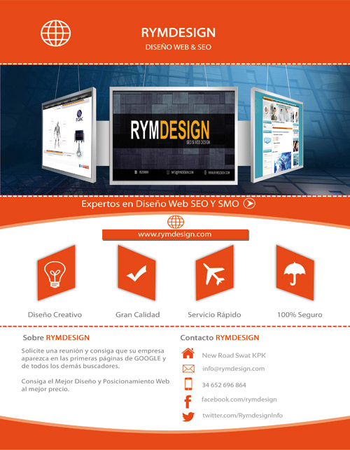 Folleto rymdesign